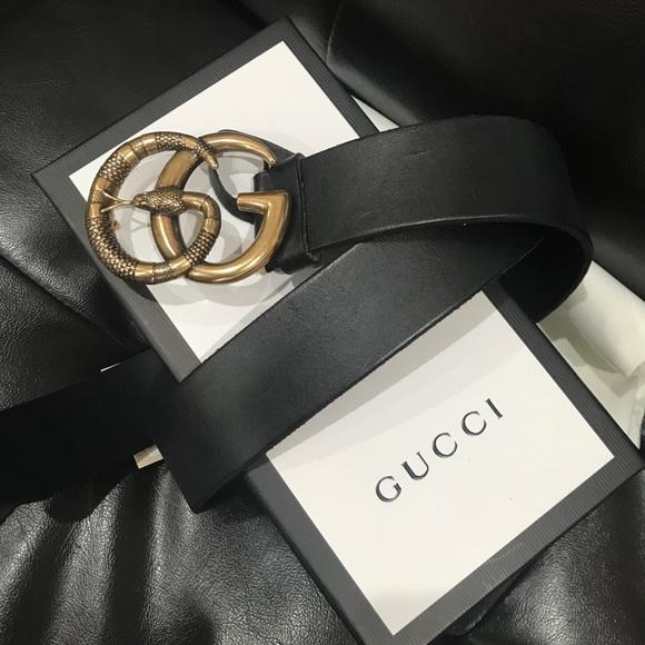 93c6654de8e Gucci Belt with Snake Buckle